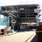Neubau Werkhalle mit TÜV-Station
